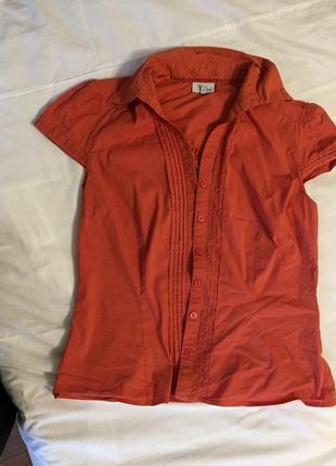 Блуза на короткий рукав