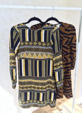 Платье из вискозы h&m