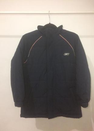 Теплая куртка reebok оригинал на синтепоне