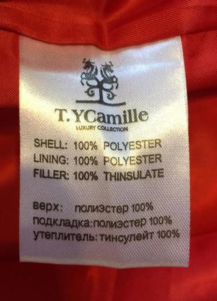 Фабричный качественный пуховик t.y camille размеры s-xxl4