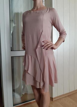 Платье италия, шёлк,  вискоза