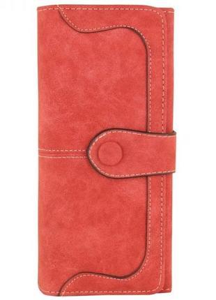 Клатч кошелек baellerry exclusive красный