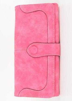 Клатч кошелек baellerry exclusive розовый