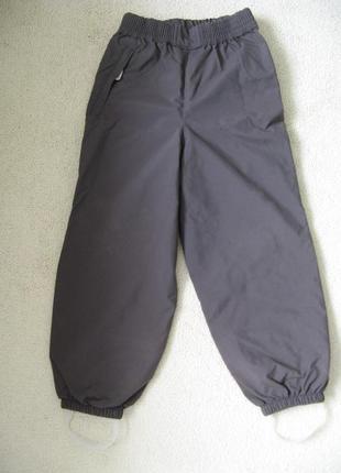 Демисезонные термо штаны reima tec 116р