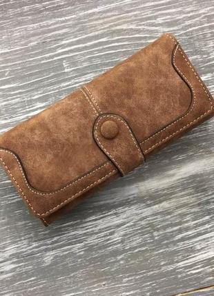 Клатч кошелек baellerry exclusive коричневый