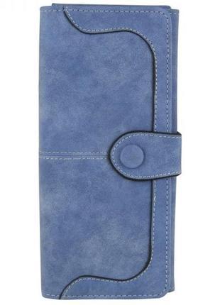 Клатч кошелек baellerry exclusive голубой