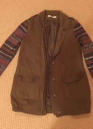 Стильнюча куртка парка від vera&lucy / size m