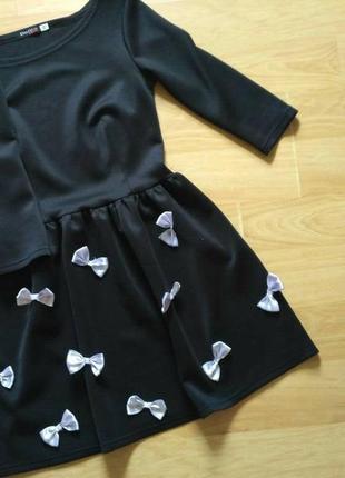 Платье бант