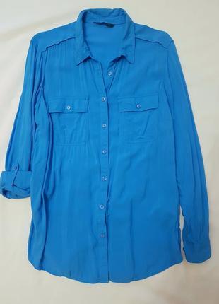 Marks&spencer рубашка удлиненная xxl