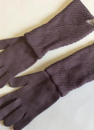 Перчатки adidas оригинал шерсть акрил