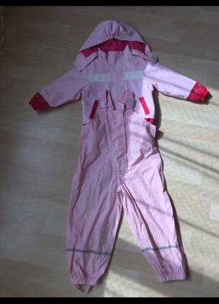 Непромокаемый костюм дл днвочки на 1,5-3,5 года