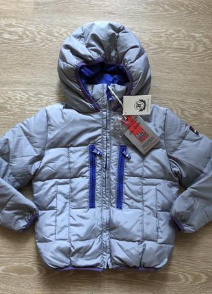 Куртка пуховая silvian heach 4,5,7 лет