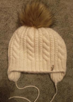 Супер тёплый набор шапка и ворот