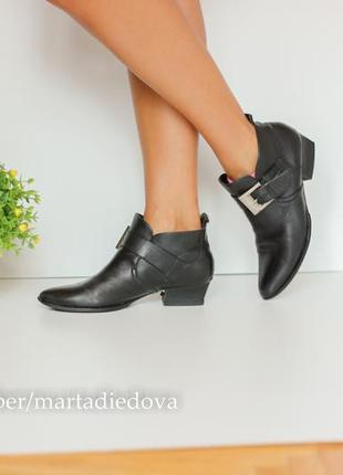 Кожаные ботинки челси ботильоны, натуральная кожа полностью
