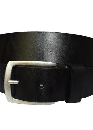Хит ремень черный кожаный под джинсы со строчкой кожа пояс кожанный ремінь шкіряний