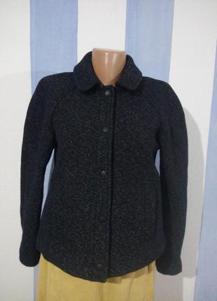 Куртка автоледі з пальтової тканини