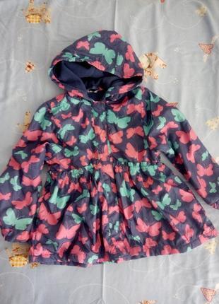 Курточка на флисе 2-3года