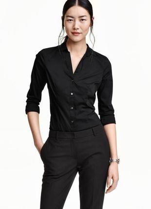 Лаконичная рубашка с официального сайта hm