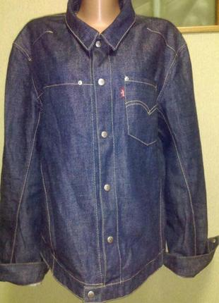 Актуальная джинсовка куртка рубашка в составе тенсел