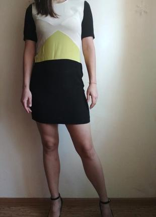 Платье футляр мини, вискоза limited collection