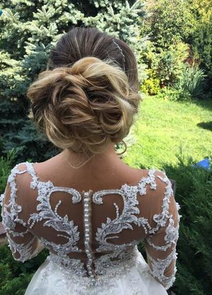 Итальянское платье из свадебного салона kokos . модель carolina. коллекция rozy 2