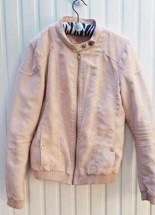 Куртка бомбер светло-розовый only