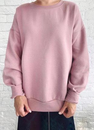 Ликвидация распродажа до 20.10!  худи на флисе толстовка розовая new look