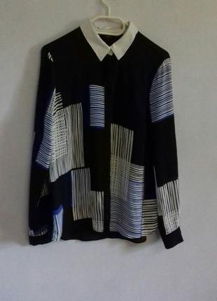 Шикарная удлиненная рубашка/блузка