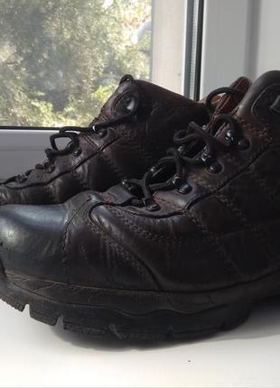 Крутые кожаные ботинки clarks