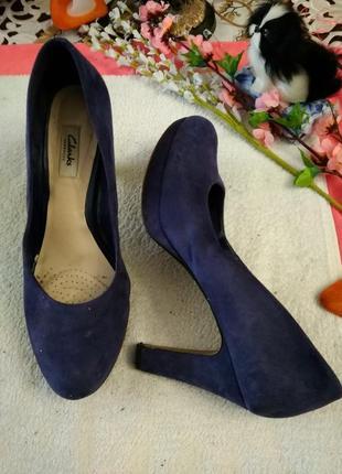 Туфлі замшеві.(еко замш)