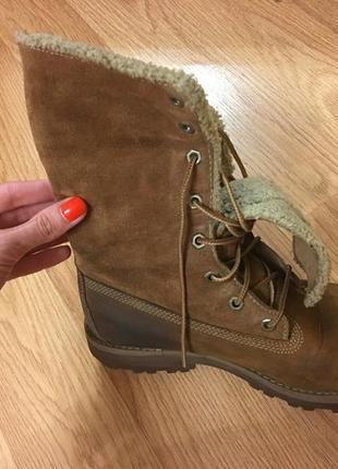 Зимние ботиночки бренда timberland