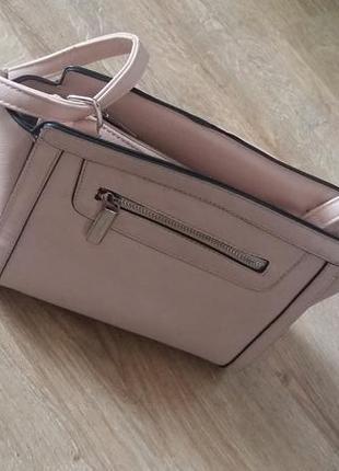 Пудрова сумка crossbody дорогого бренду   marina galanti