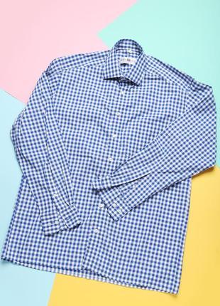 Очень стильная мужская рубашка royal class с длинным рукавом