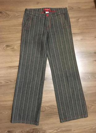 Стильные коттоновые брюки,кюлоты!