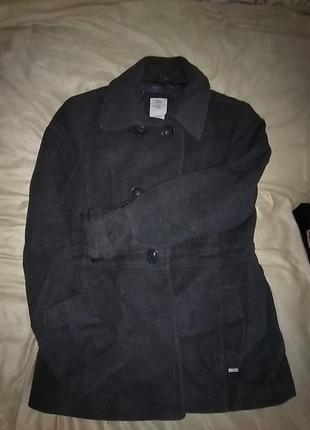 S.oliver пальто теплое шерсть 65%