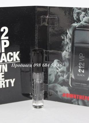 Carolina herrera 212vip black own the party