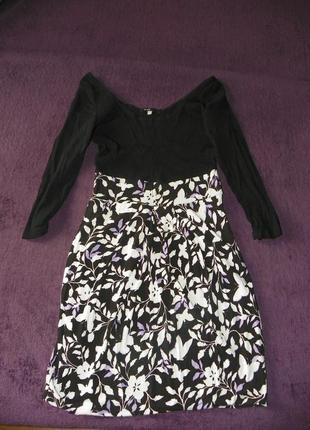 Платье с сеточкой oggi
