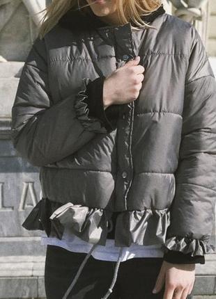Курточка с рьюшками