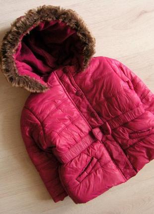 Тёплая курточка lisa rose