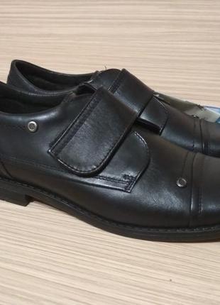 Туфли школьные, полуботинки на подростка демисезонные р.37
