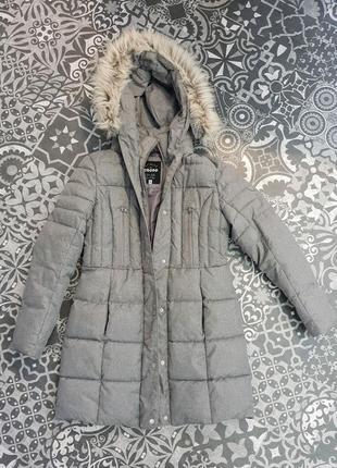 Дутое пальто на синтепоне