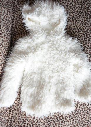 Меховая демисезонная куртка yd 4-5 лет (рук. 39, шир.34, дл. 45)
