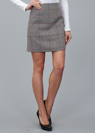 Деловая теплая юбка на подкладке tom tailor