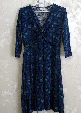Вискозное платье миди east