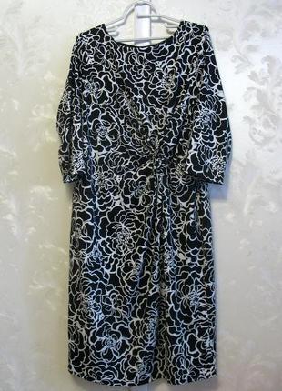 Стильное платье f&f большой размер