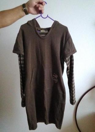 Срортивна тепла сукня