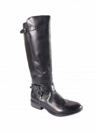 Marco tozzi шикарные кожаные сапоги - 38 размер