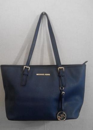 Кожаная сумка шоппер натуральная кожа