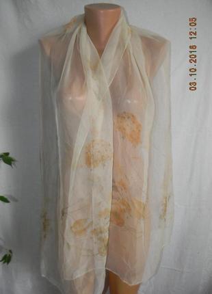 Нежный шарф италия1 фото