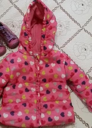 Куртка  для девочки f&f